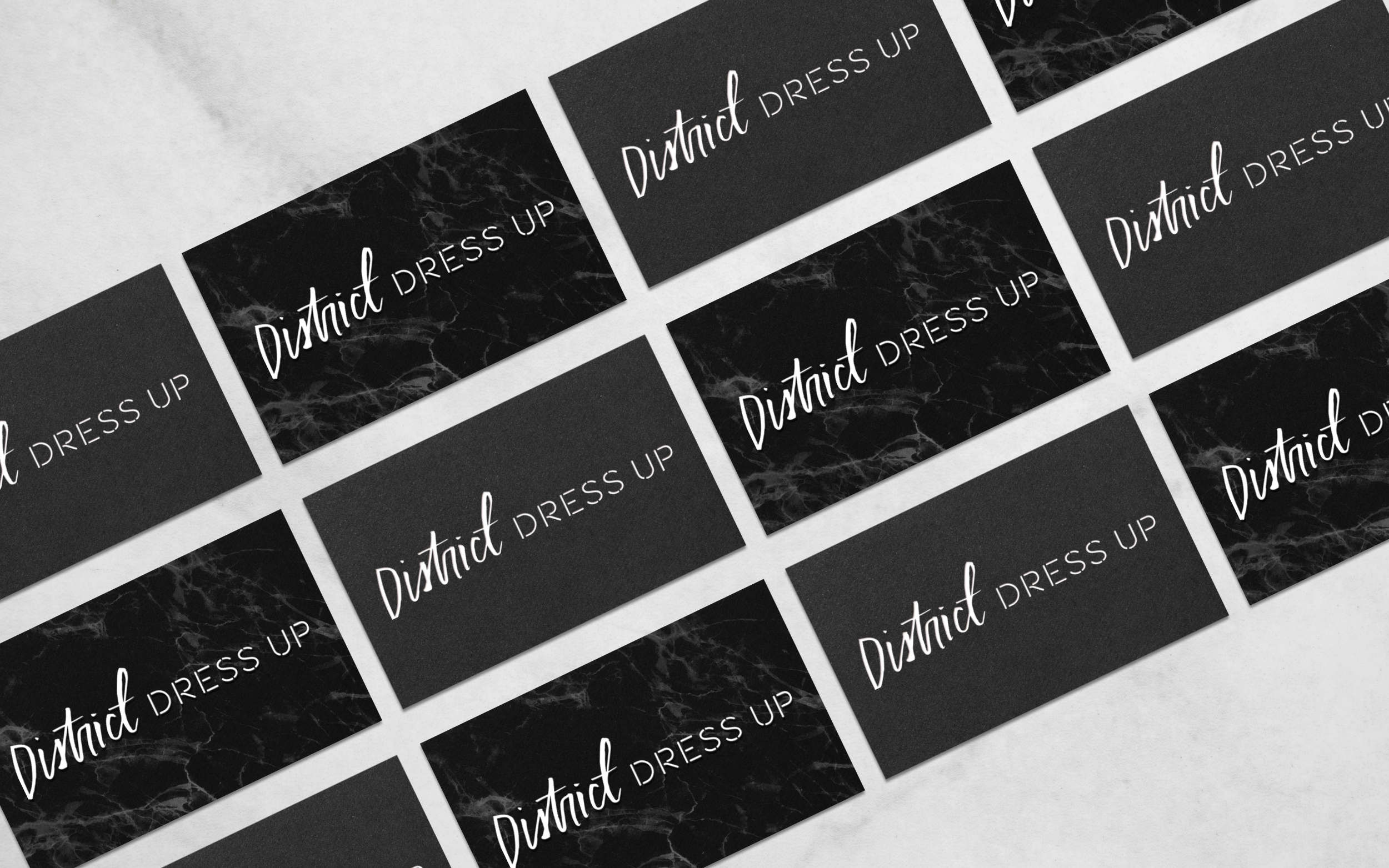 Business Card Design for Style Blogger