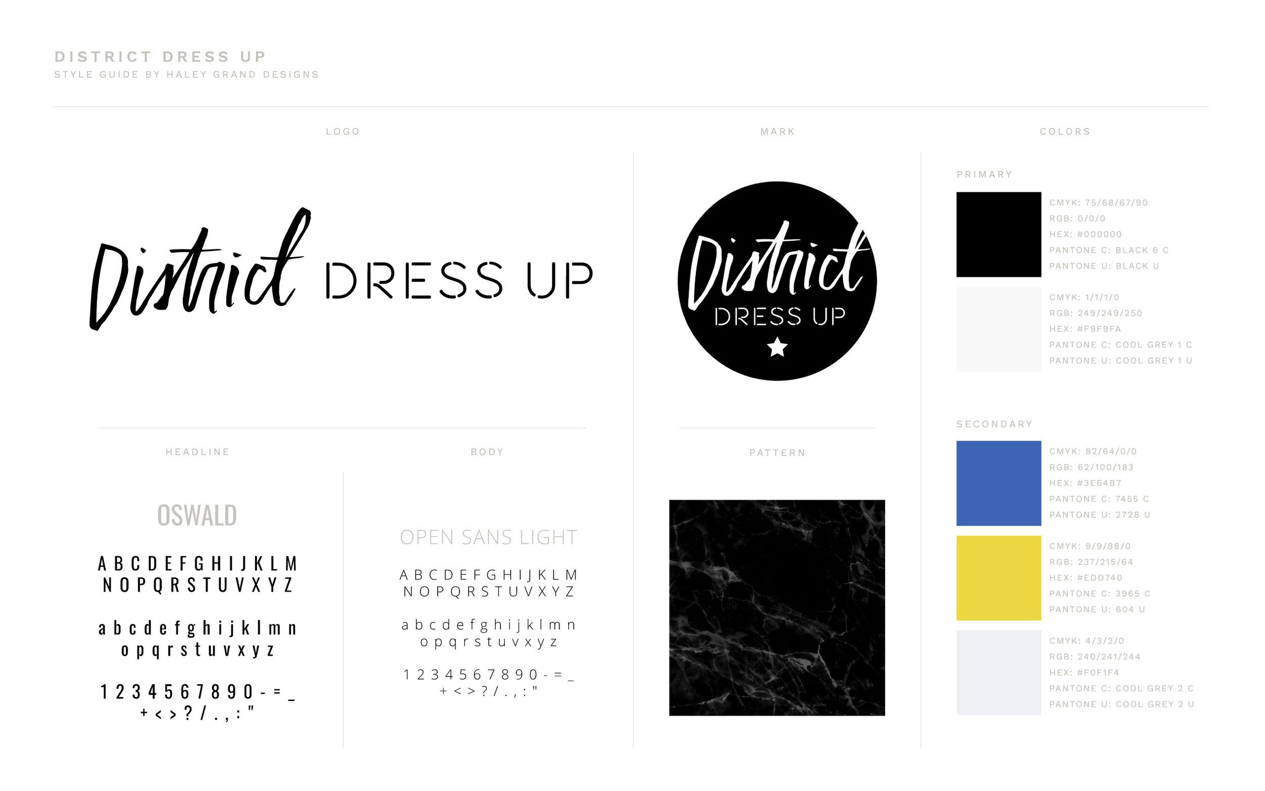 Brand Design for Style Blogger