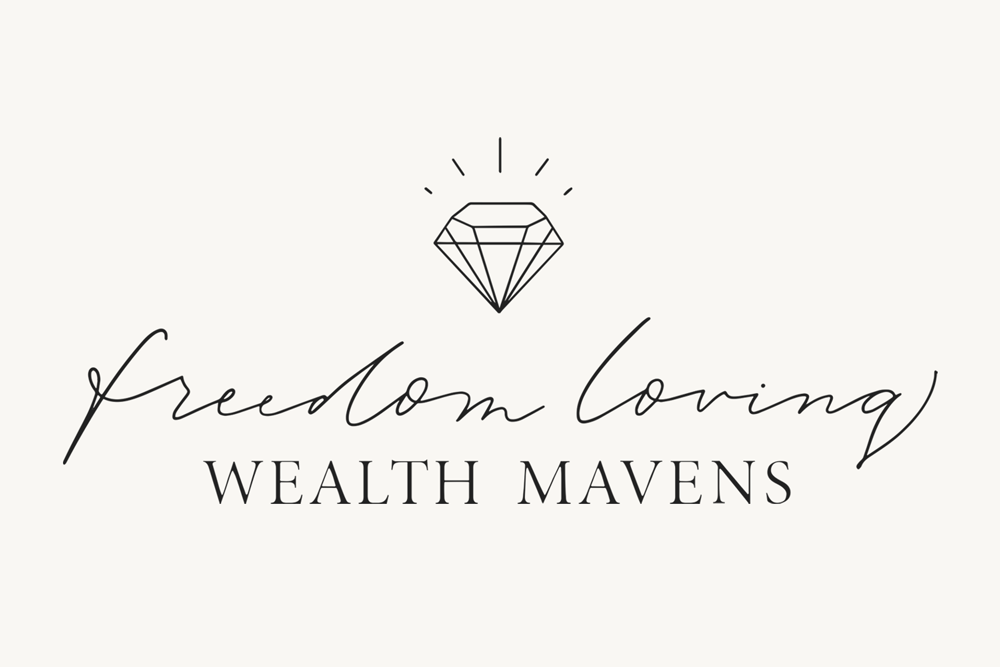 Brand and Web Design: Freedom Loving Wealth Mavens