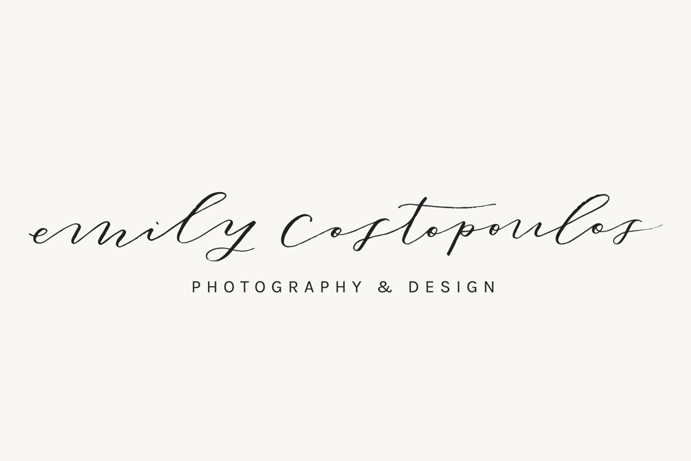 Brand and Web Design: Emily Costopoulos