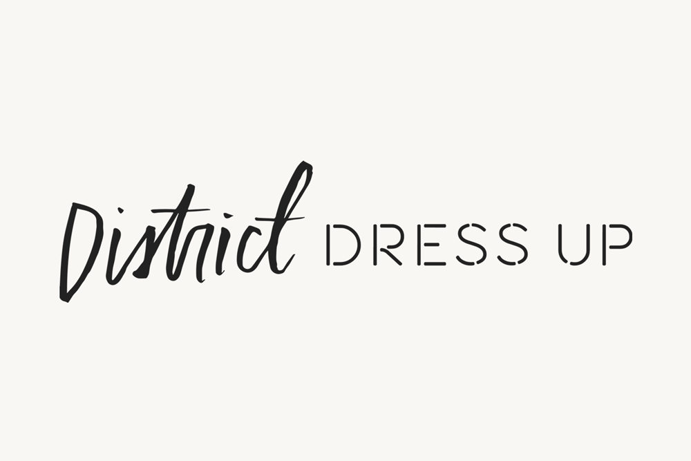 Brand Design: District Dress Up