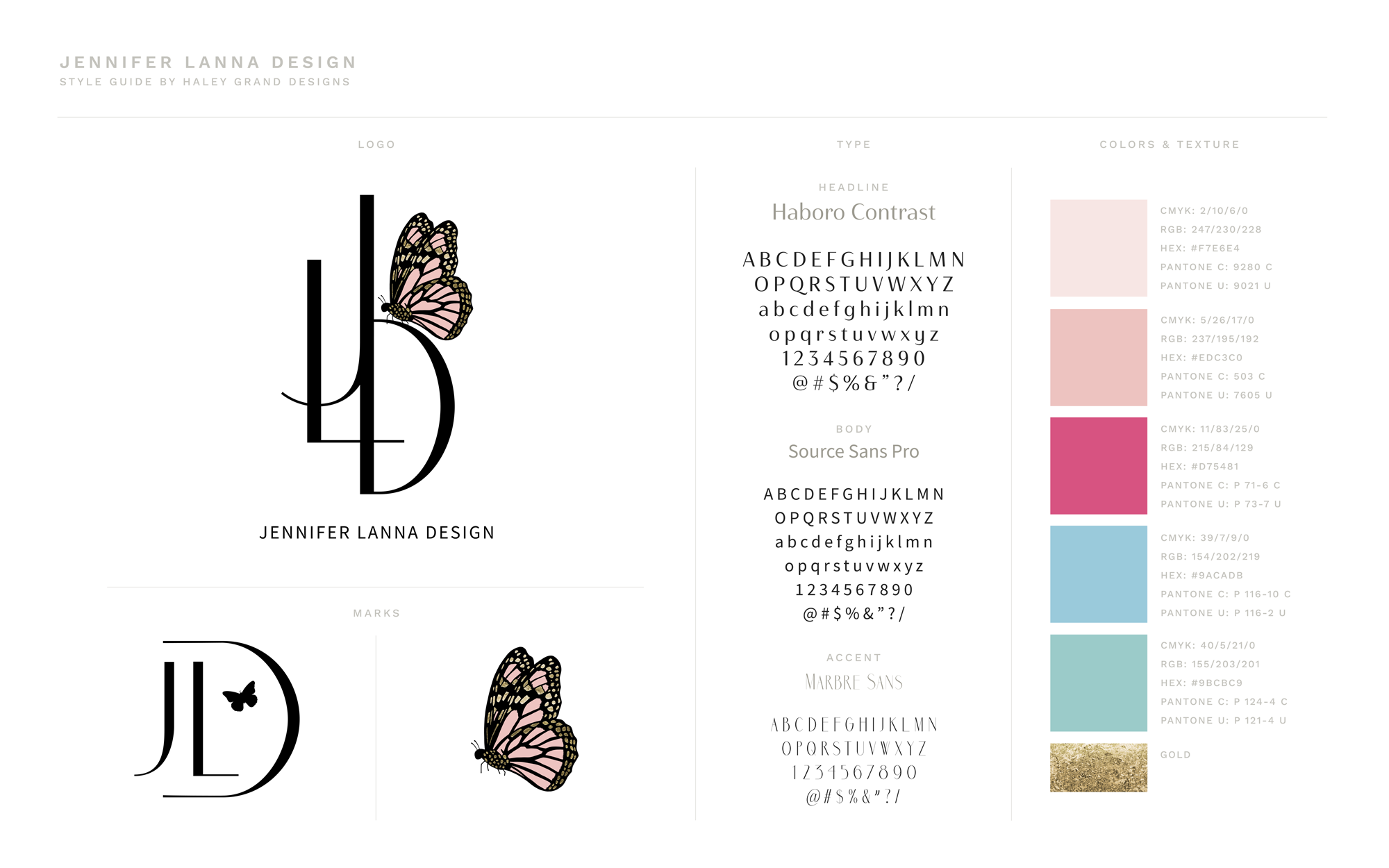 Brand Design and Style Guide for Creatives