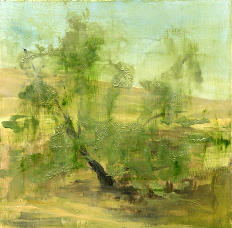 No. 227  Oil on Wood  8in x 8in
