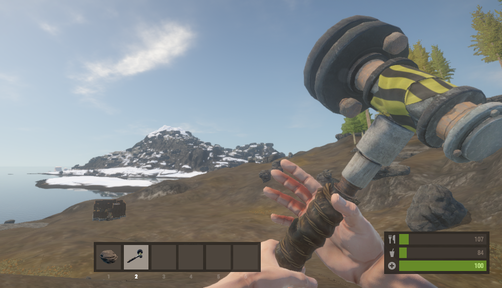 The new Salvaged Hammer
