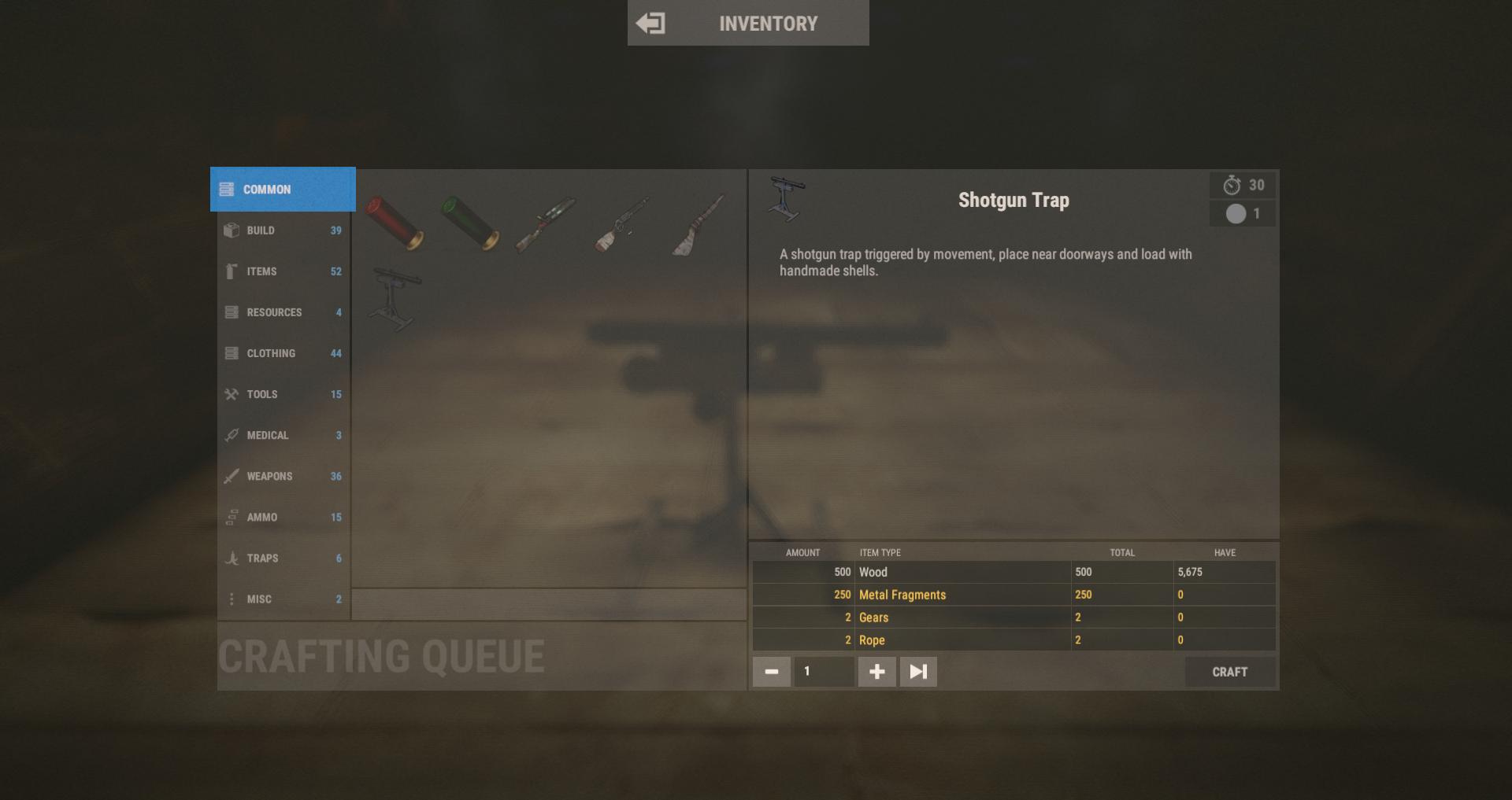 New Shotgun Trap Costs