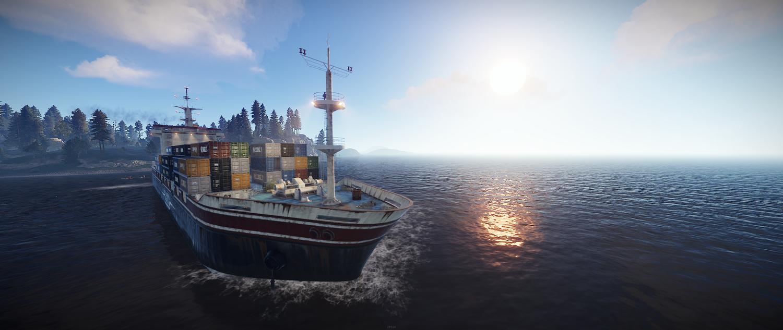Cargo Ship Ho! — Rustafied