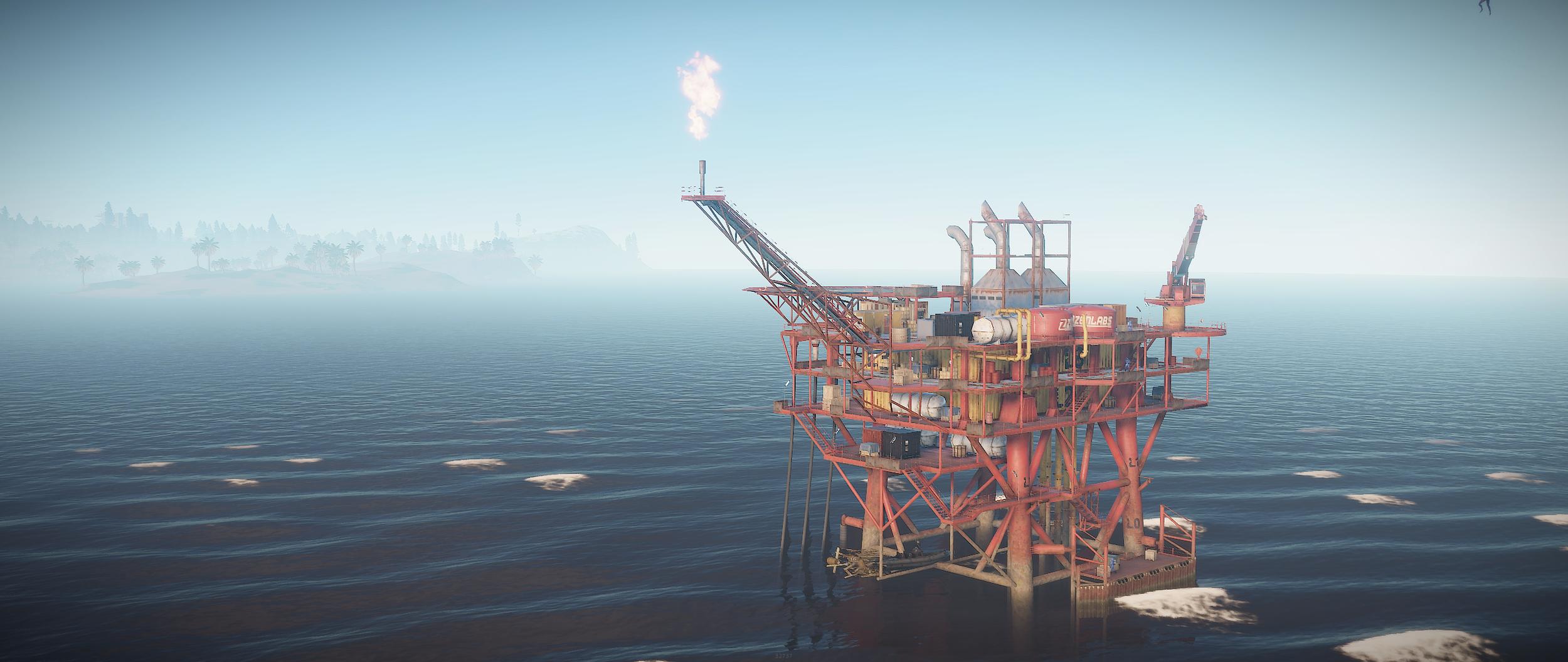 Oil Rig Ho! — Rustafied