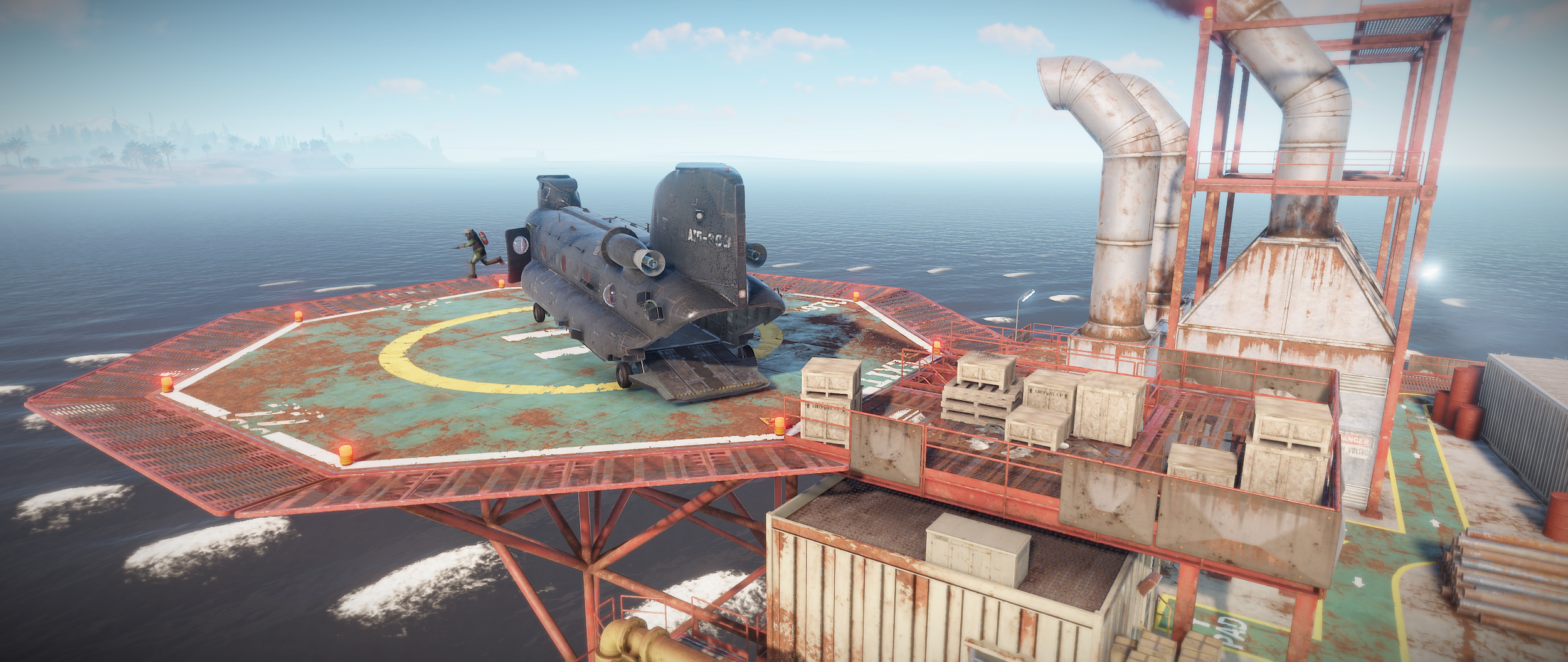 Oil Rig Ho! — Rustafied