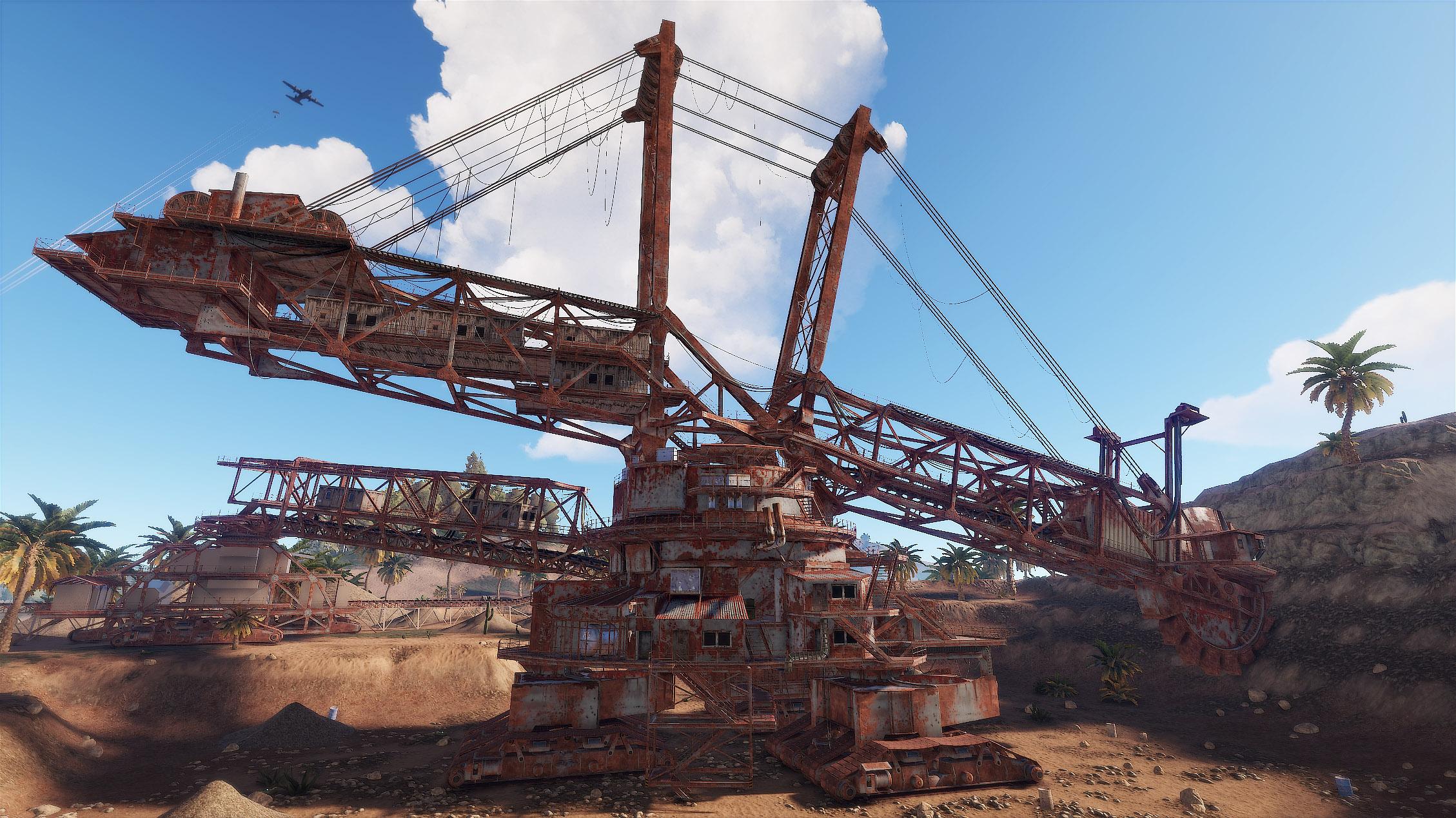 Rust Excavator