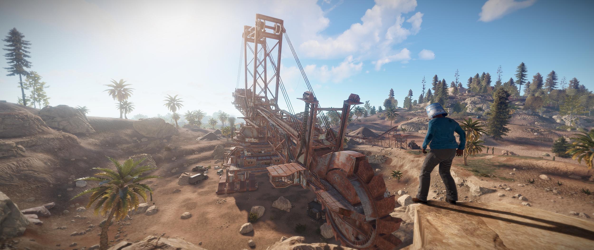 Giant Excavator Pit incoming! — Rustafied