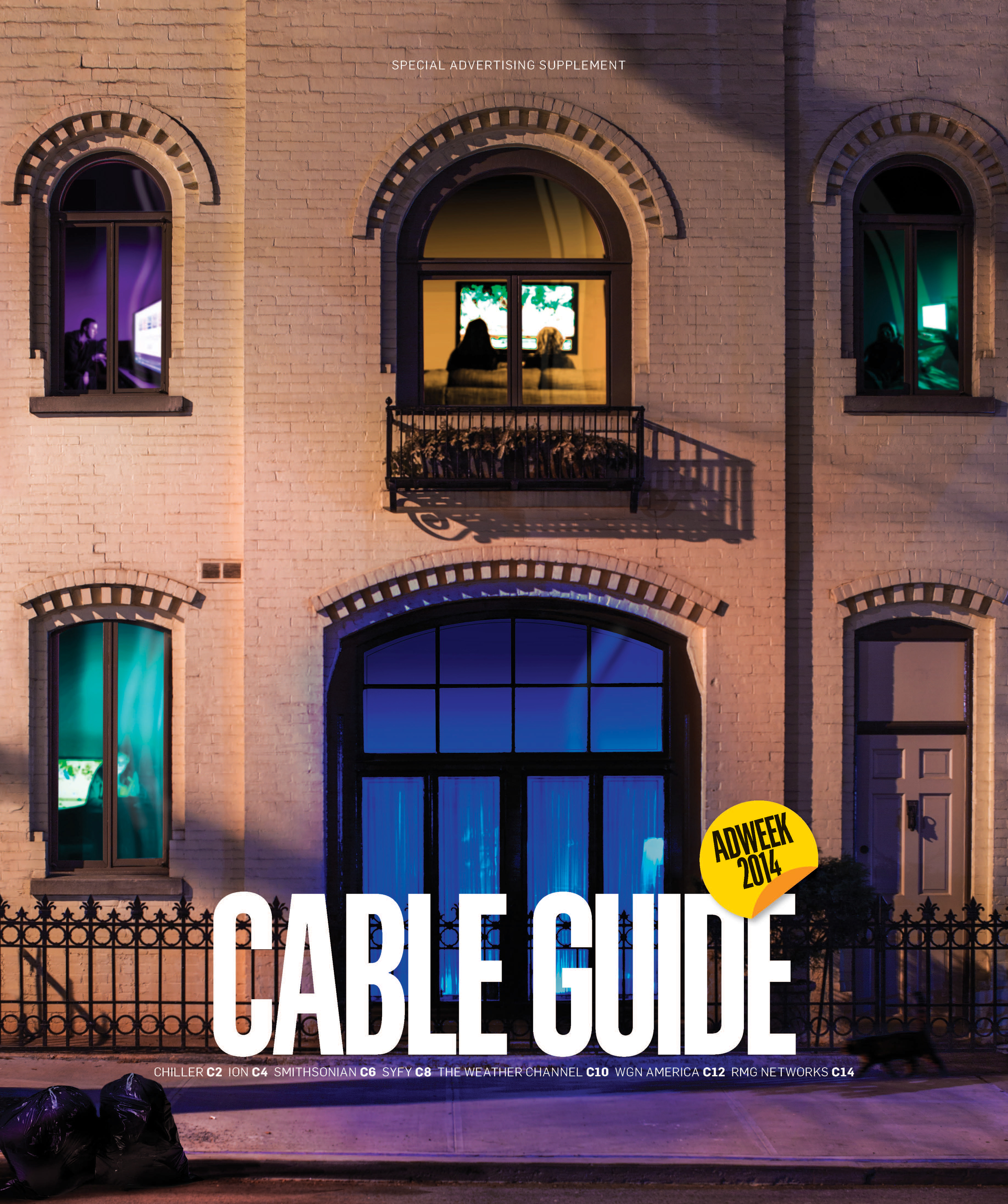 Cable Guide 2014 cover