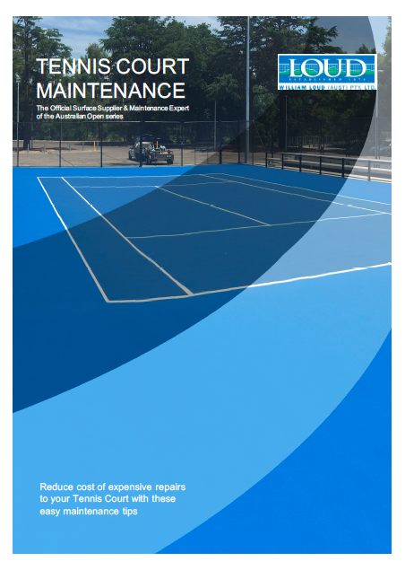 Easy Maintenance Tips for your Tennis Court ebook -