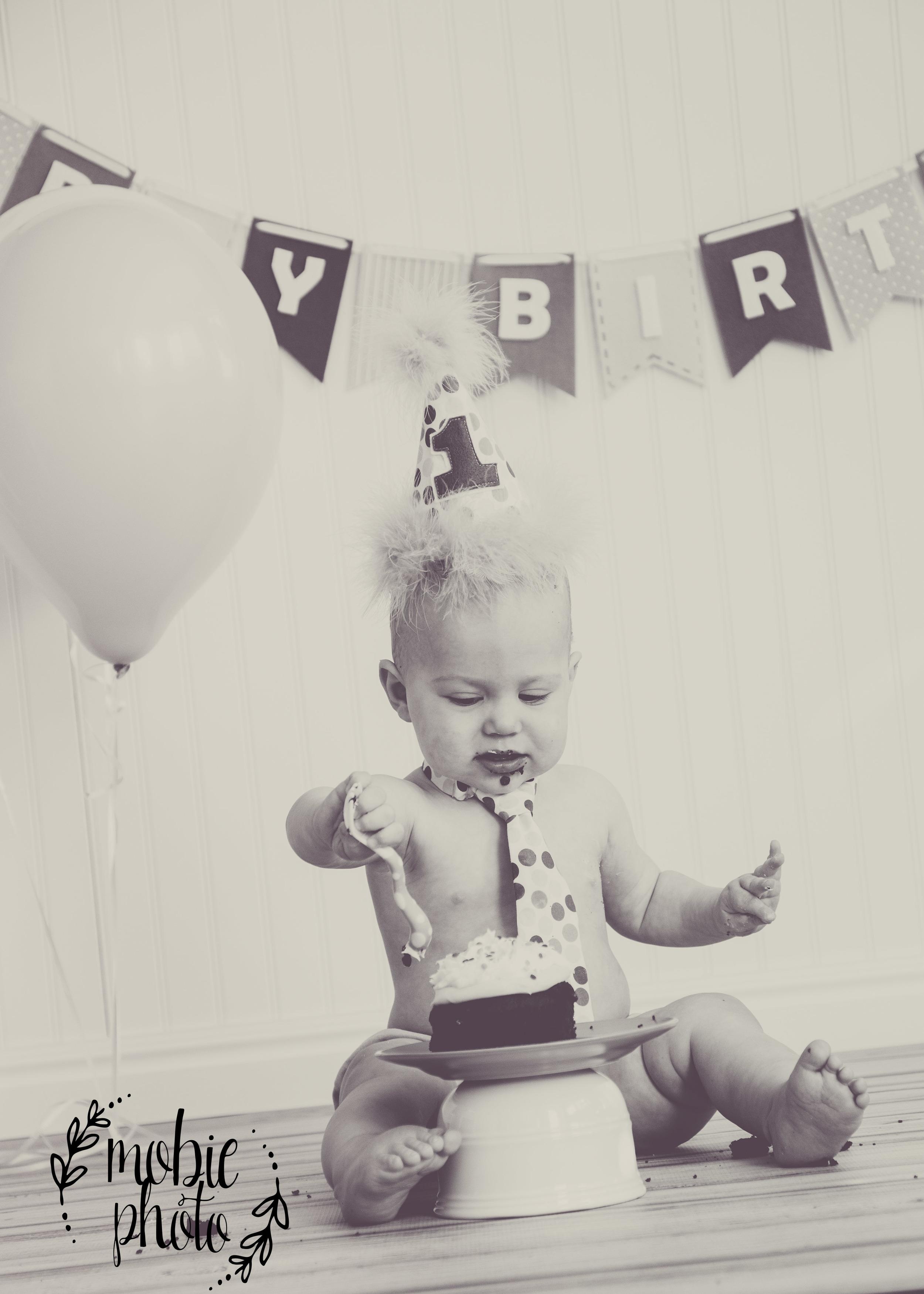 Mobie Photo First Birthday