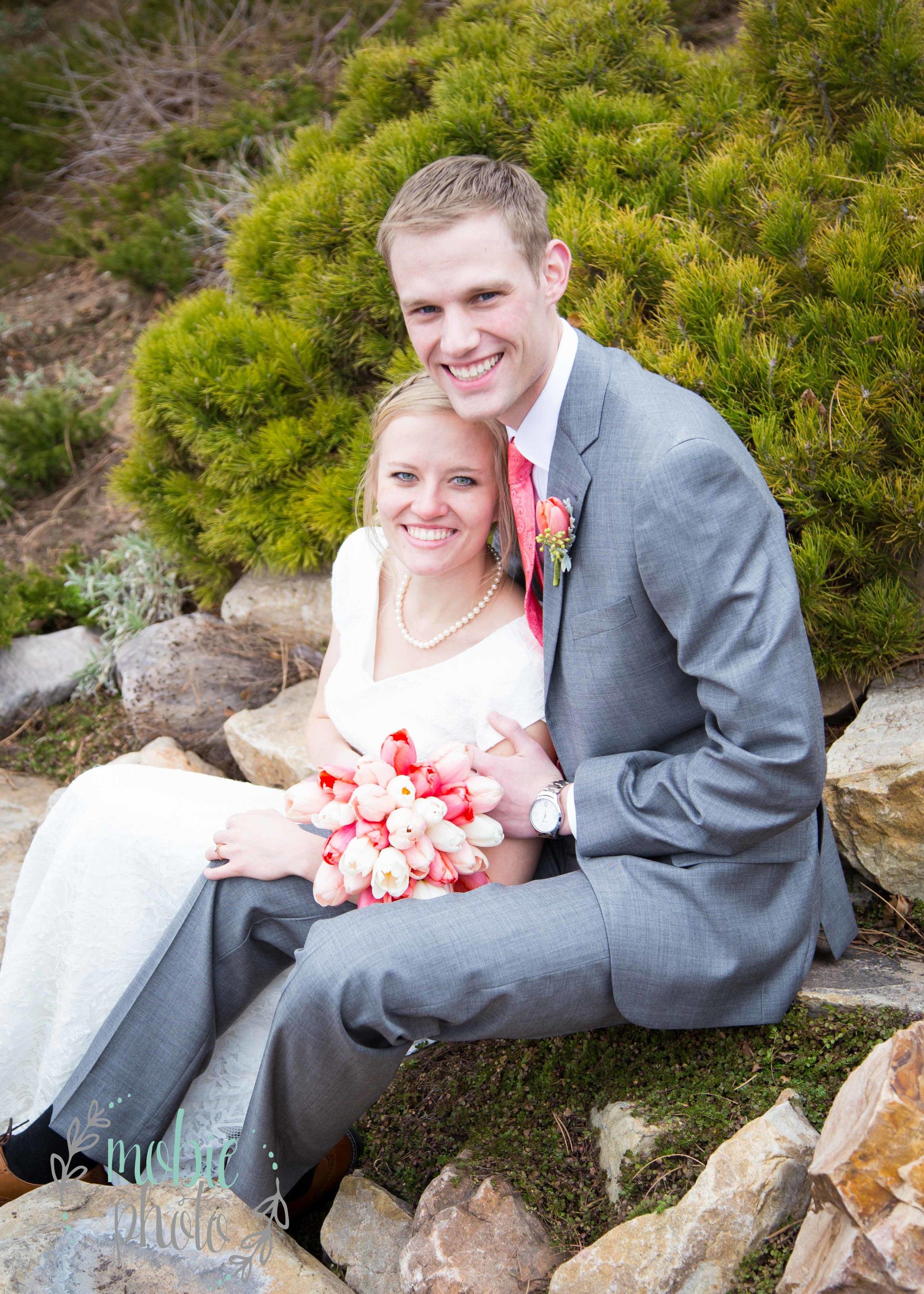 Mobie Photo - Logan Utah Temple Wedding