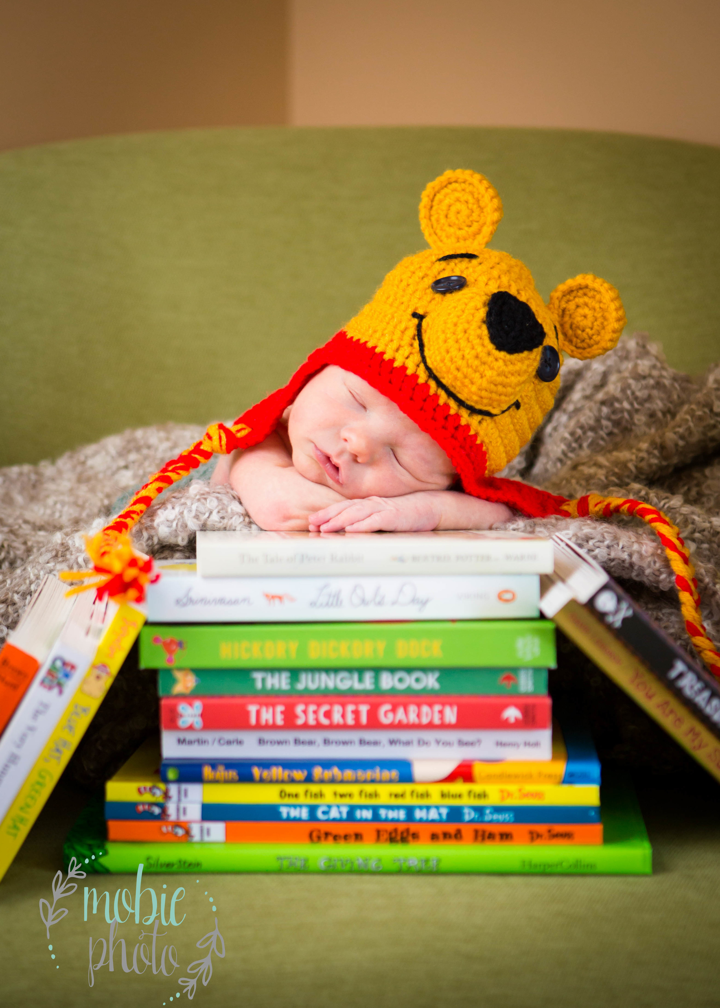 In-home Newborn Photography by Mobie Photo - Riverton, Utah