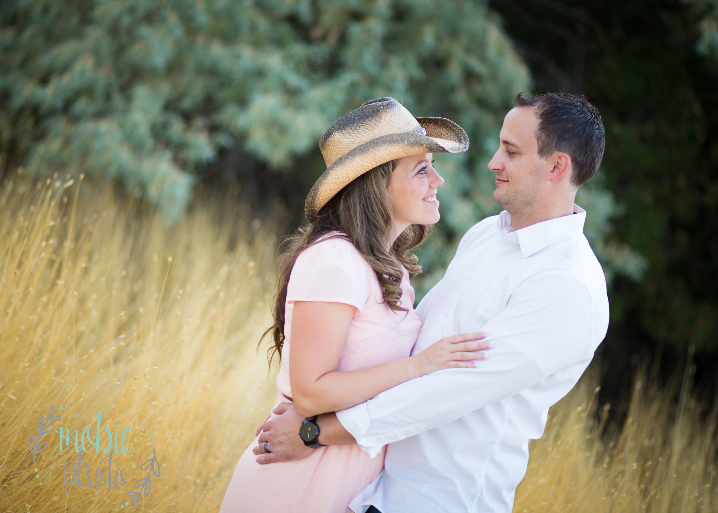 Cowgirl or western engagement pictures
