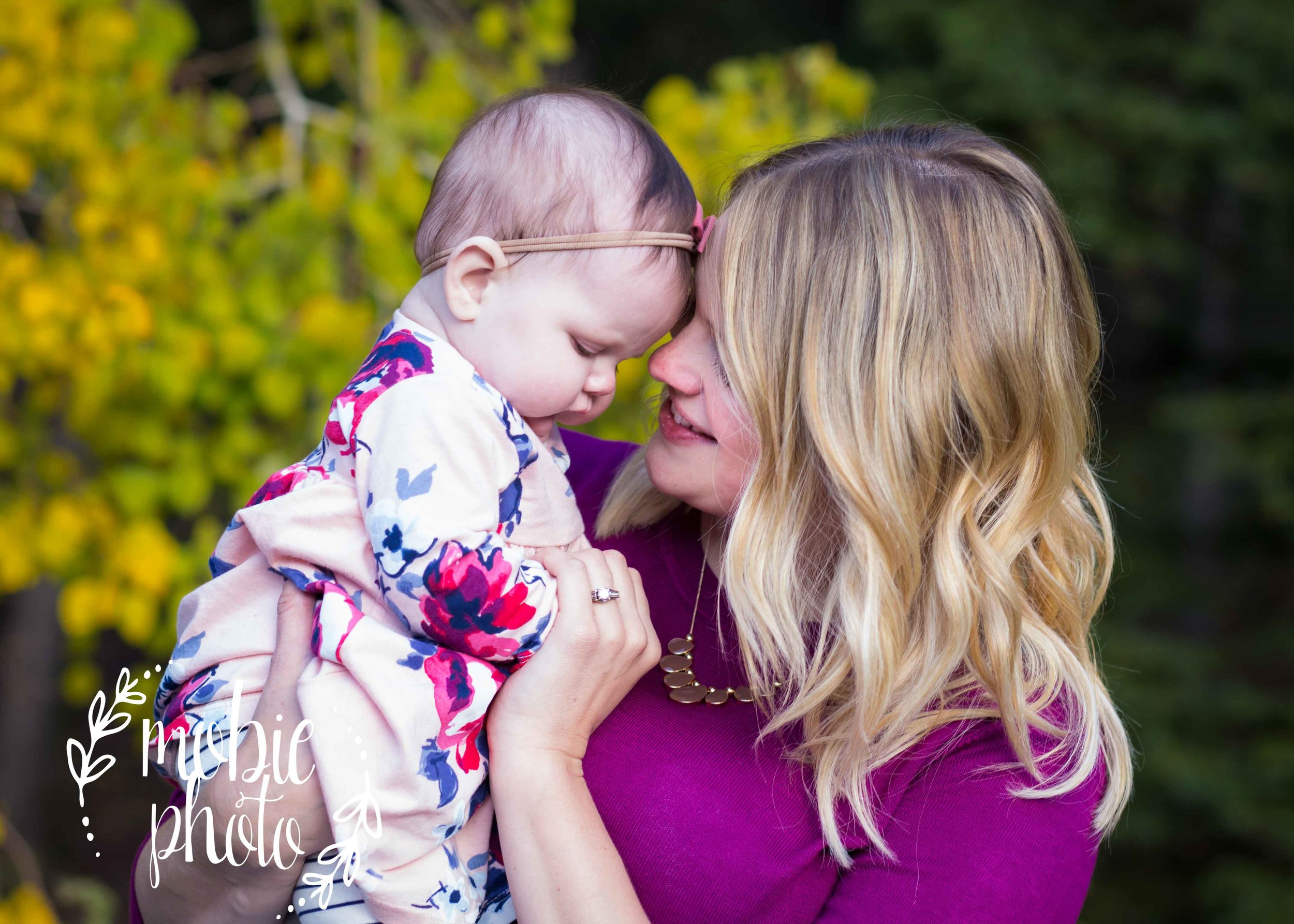 Fall Family Pictures in American Fork Canyon, Utah