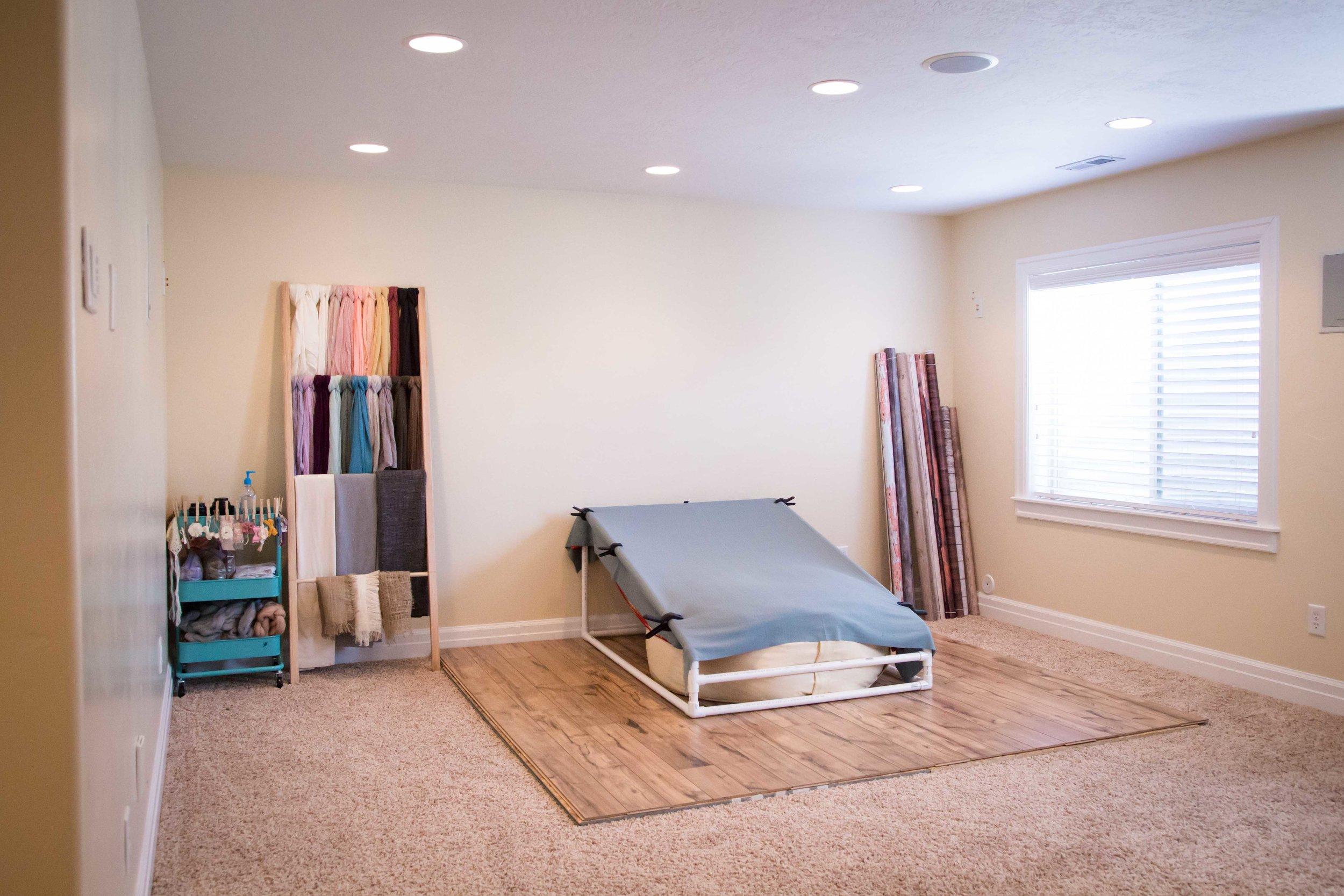 Lehi Utah Newborn Studio