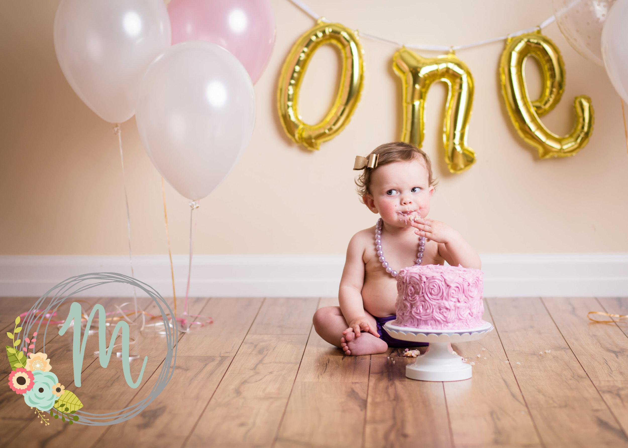 Mobie Photo - Utah Newborn Photography - First birthday pictures.