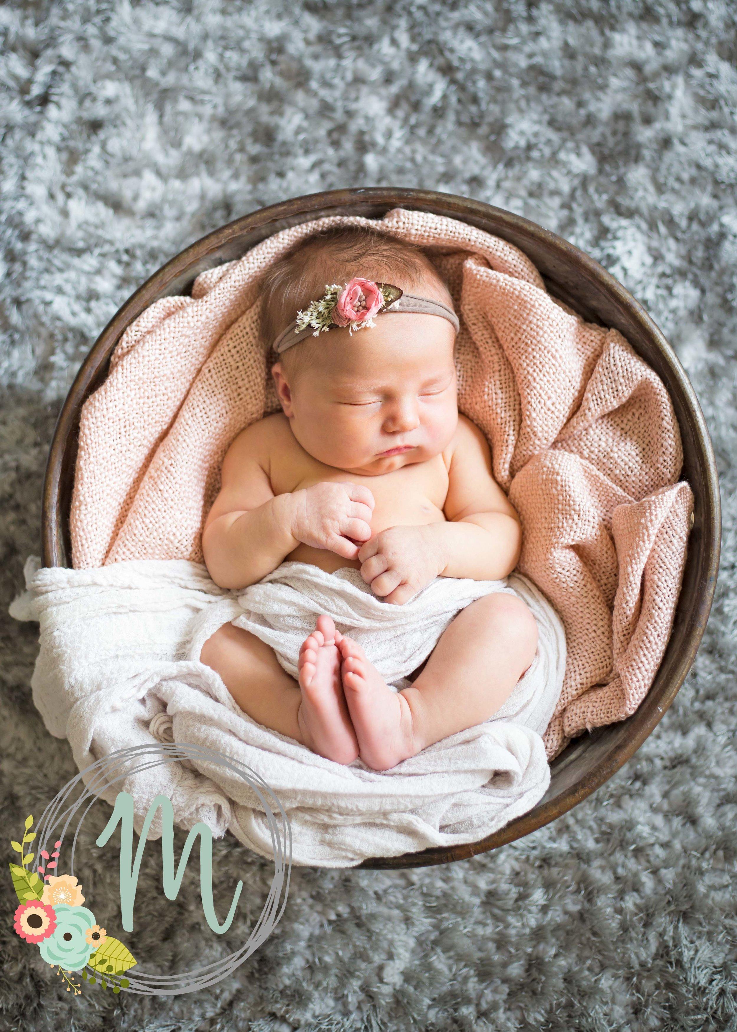 In-home Utah Newborn Photography