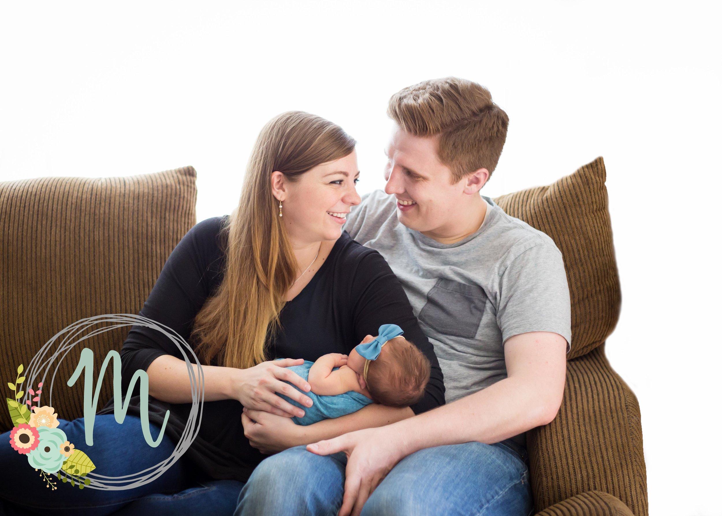 In-home Utah Newborn Photography - Millcreek, Utah