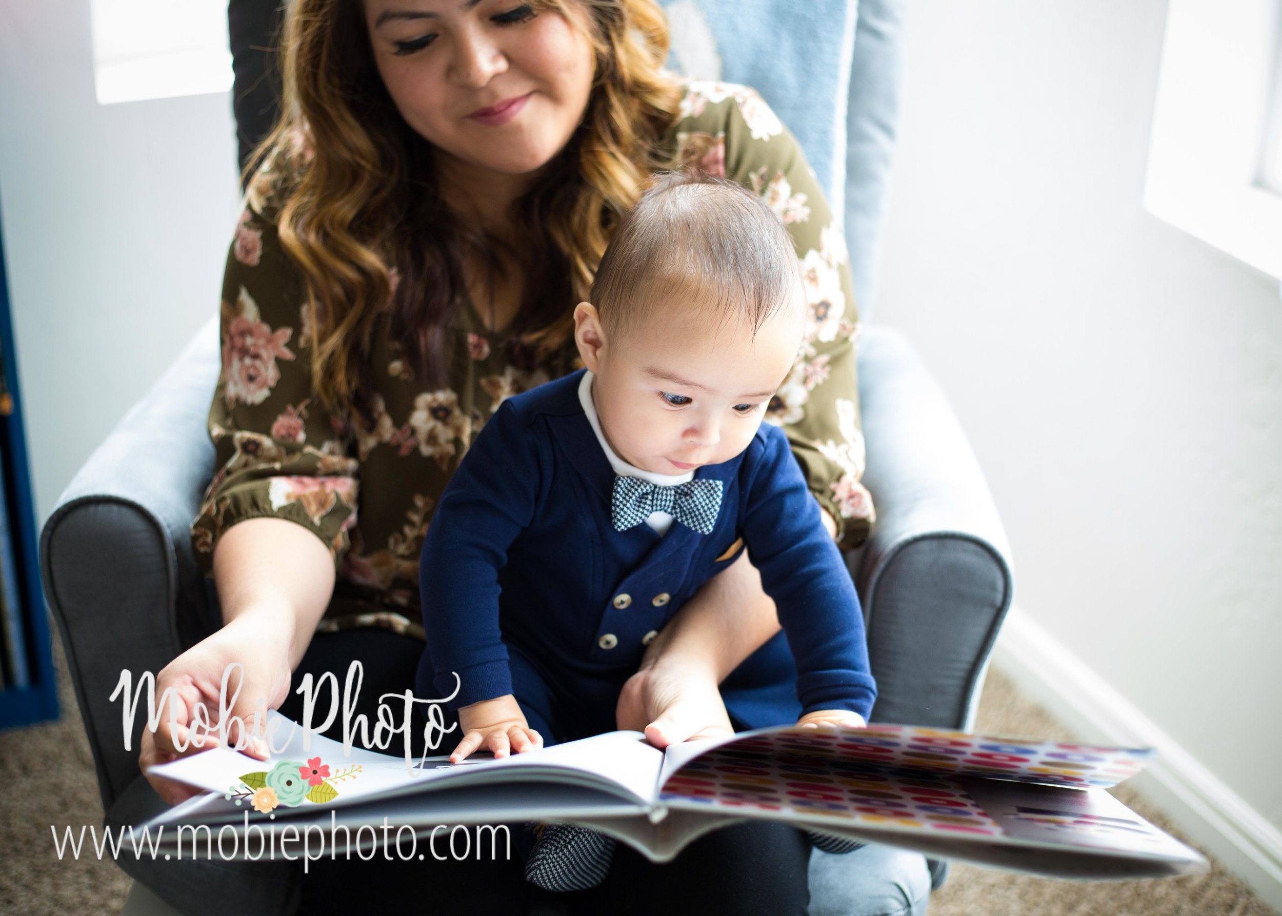 Utah Newborn Photography - Six Month Milestone Shoot in Pleasant Grove, Utah