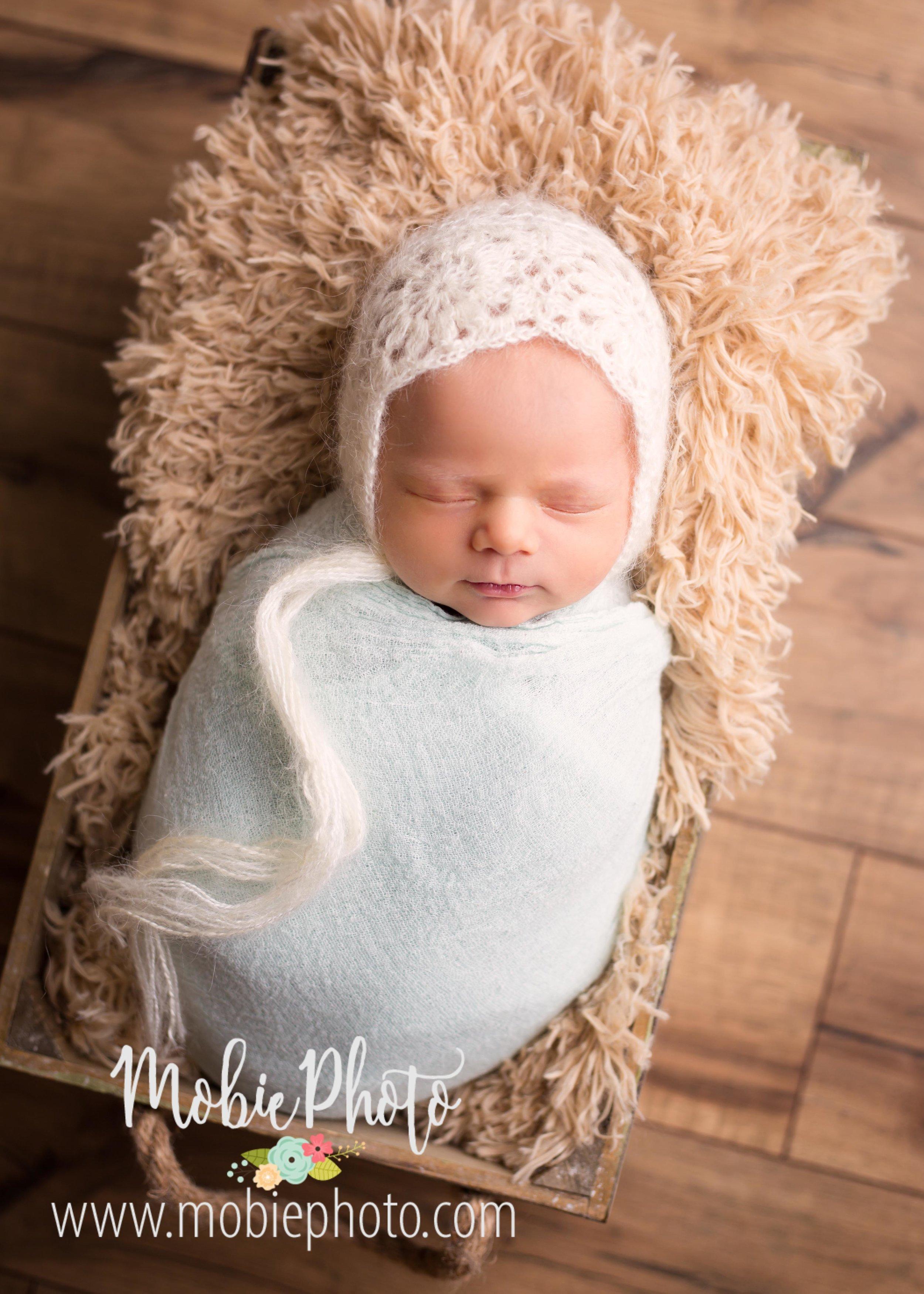 Lehi, Utah Newborn Photographer - Baby Girl Newborn Session