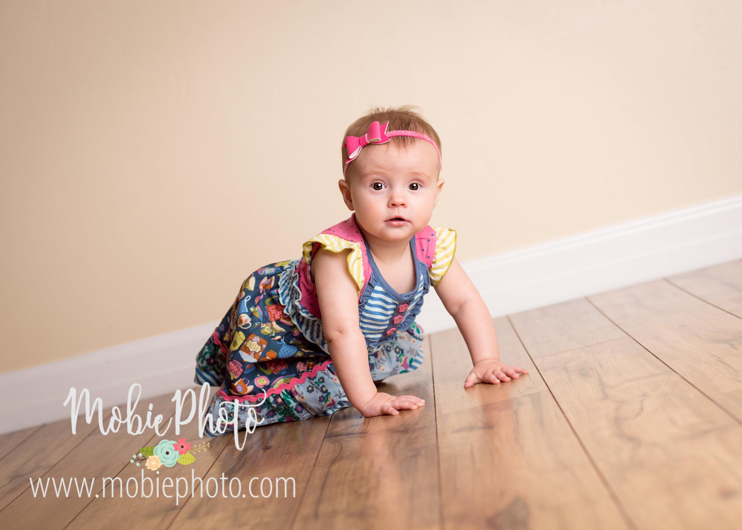 Mobie Photo - Lehi, Utah Baby Photographer - 9 Month Session