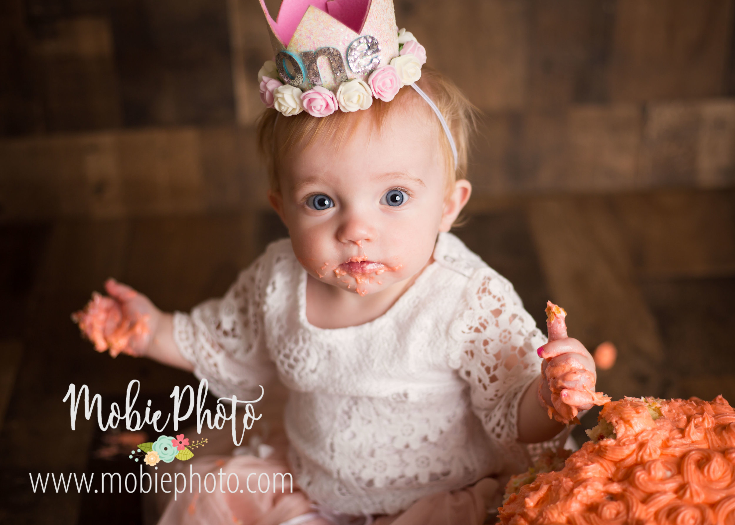 Utah Newborn Photographer - First Birthday Pictures