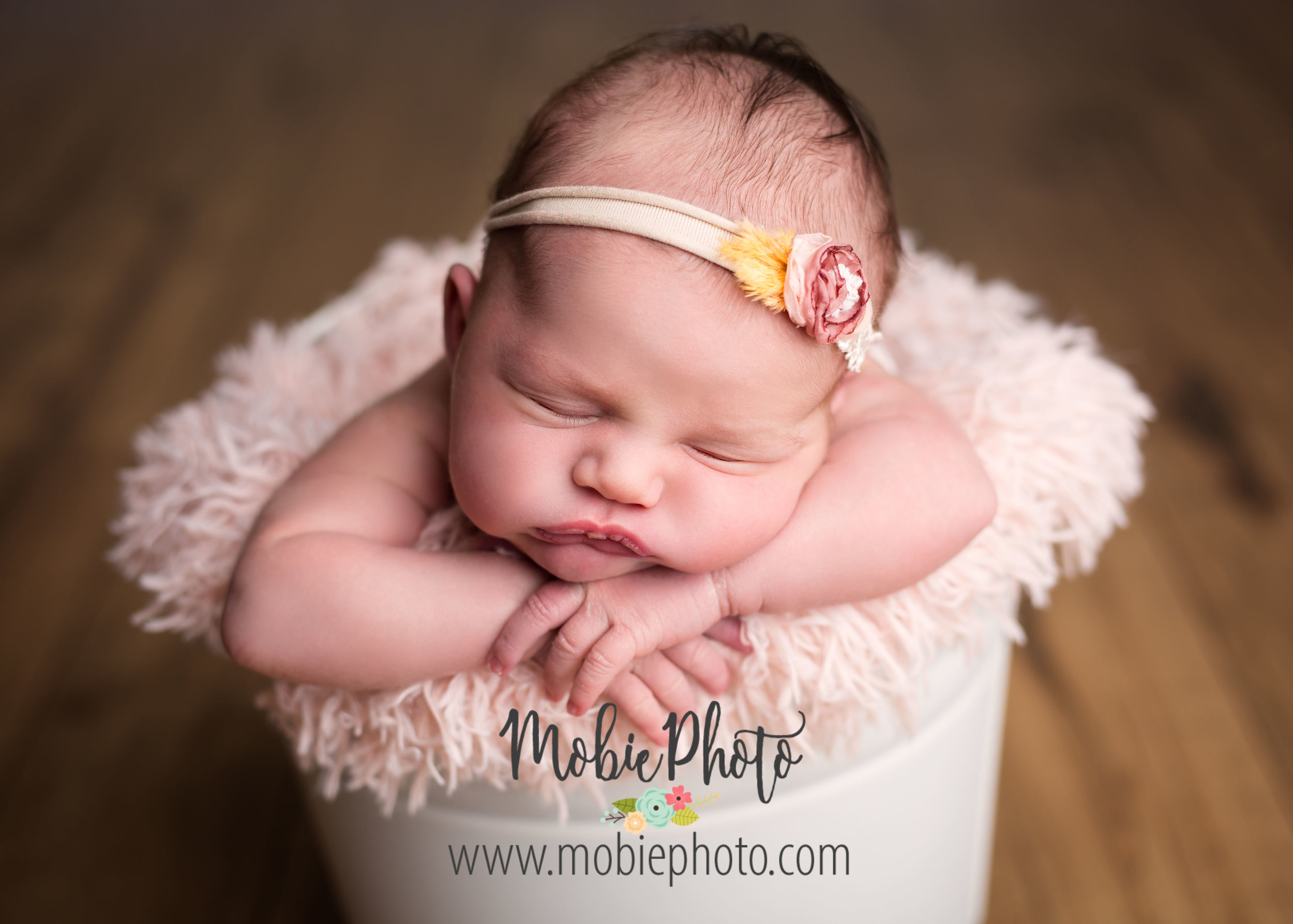 Utah Newborn Photographer - Mobie Photo