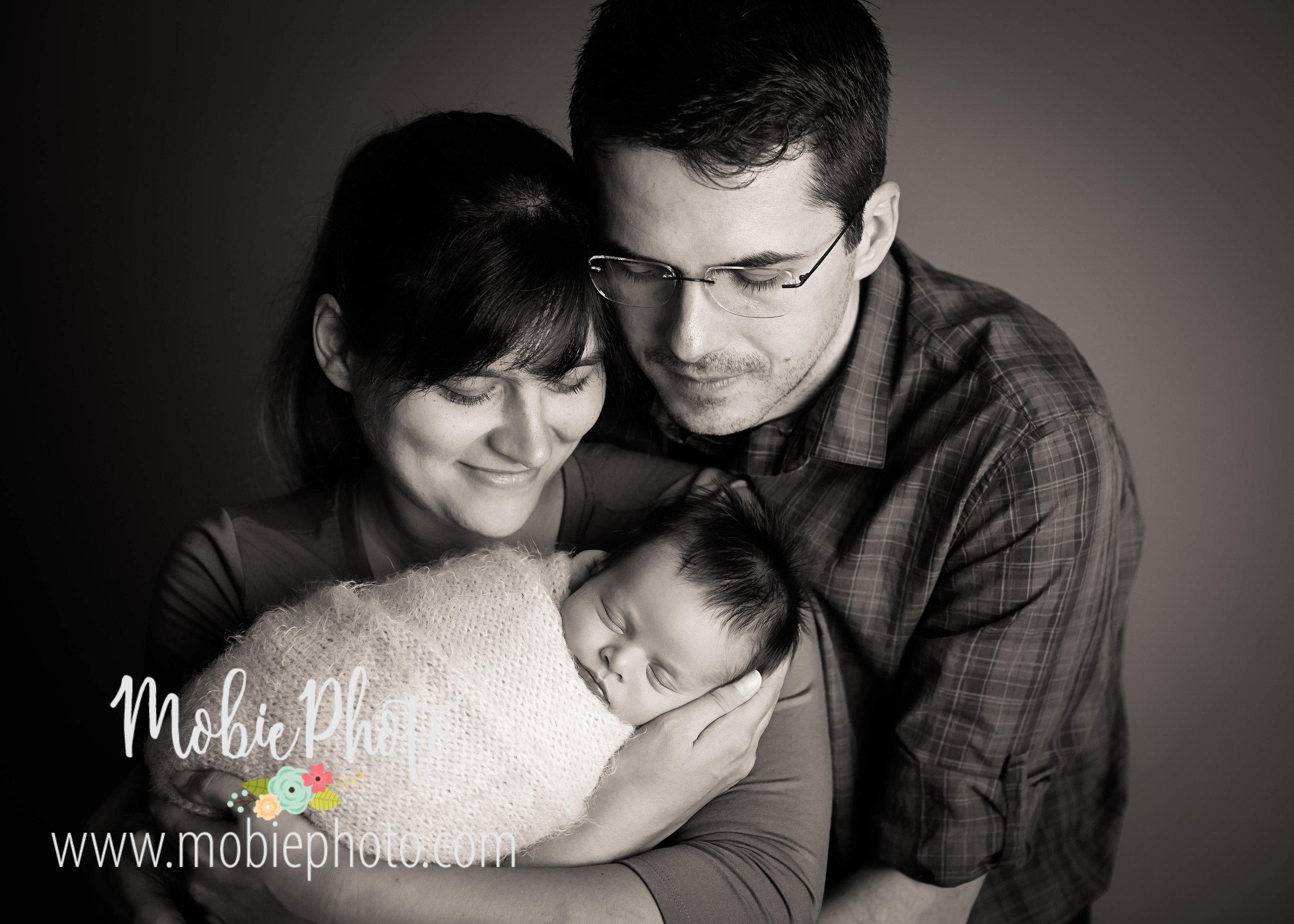 Newborn Boy Photo Session - Mobie Photo - Utah Newborn Photography