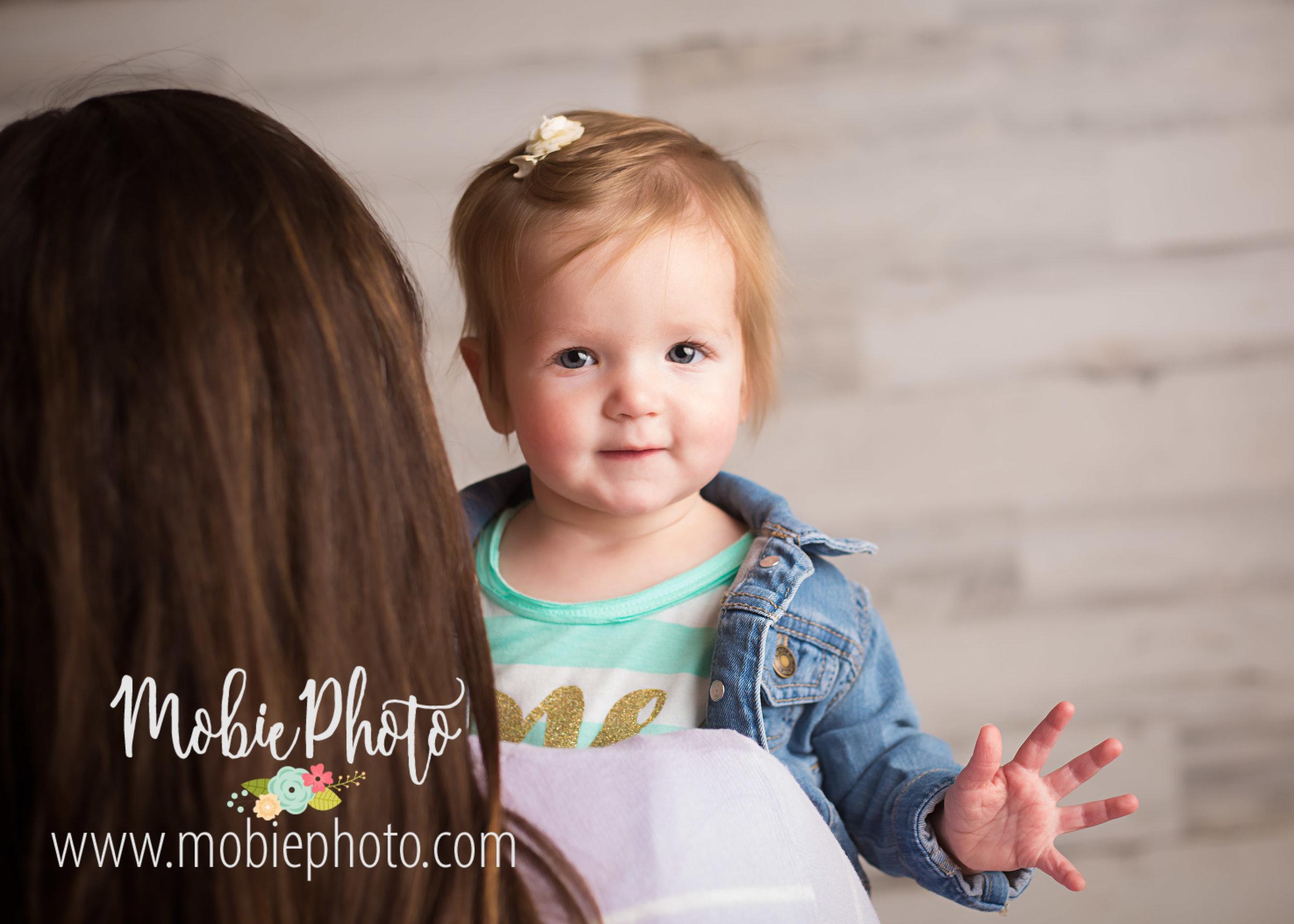 First Birthday Photo Session in Lehi, Utah