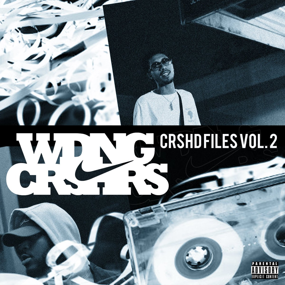 WDNG CRSHRS (QUENTIN MILLER & COOL IS MAC) release highly anticipated project CRSHDFILES VOL. 2 available on all streaming platforms.