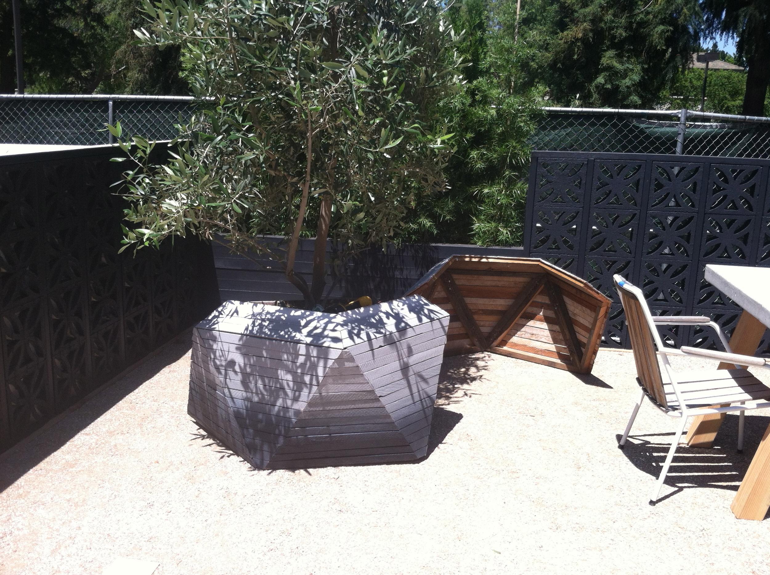 Ombre Planter pieces