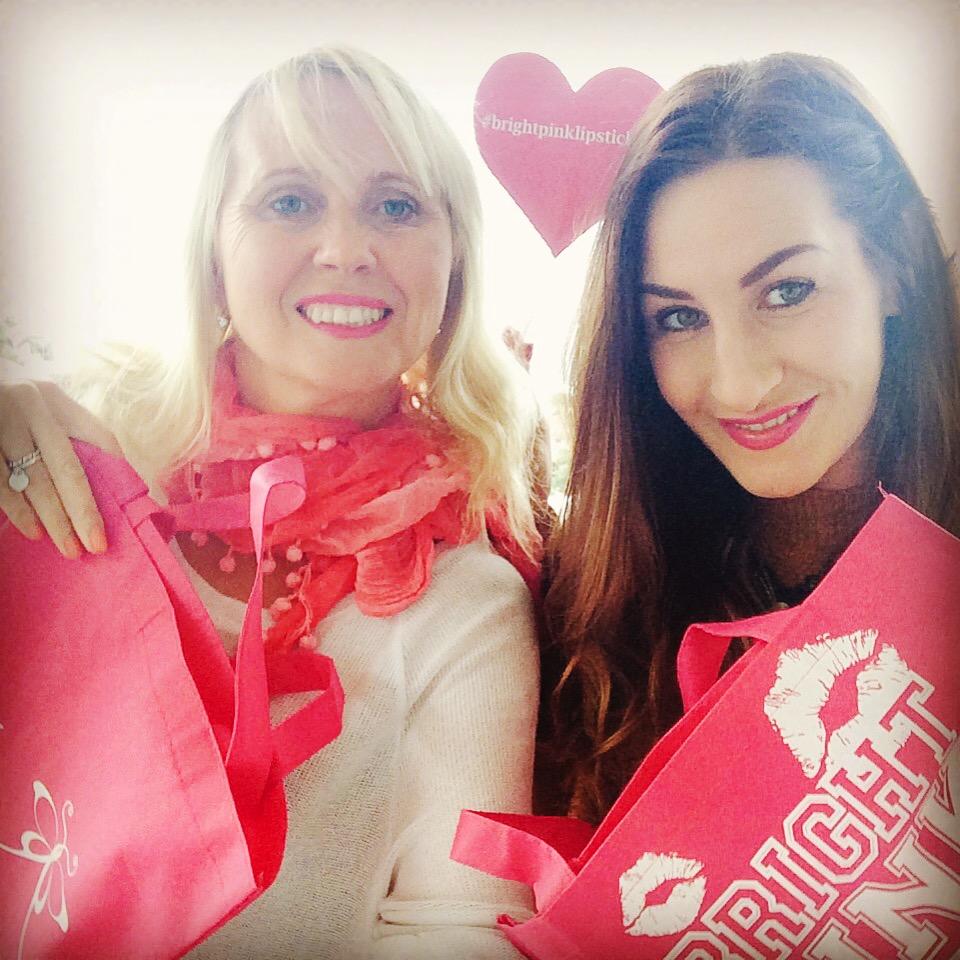 Pink Hope Bright Pink Lipstick Day 2015