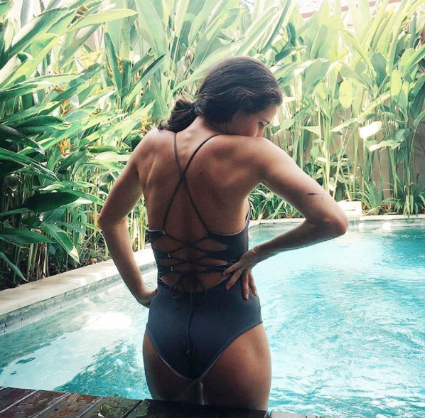 @Madiwilcox wearing the Uluwatu full piece in Bali.  Shop this look here.