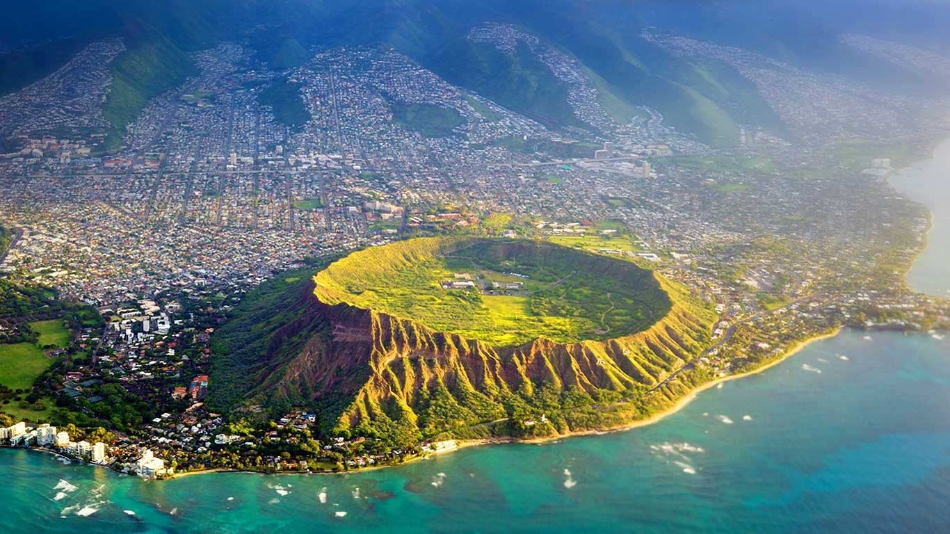 Diamond Head Crater Trail, Oahu