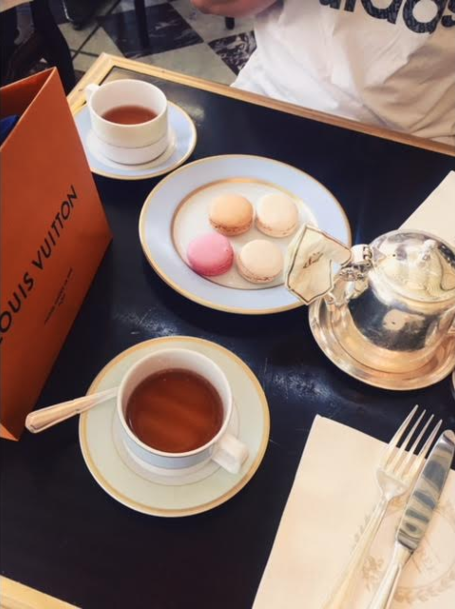 .. but secretly the city of shopping and to-die-for macarons!