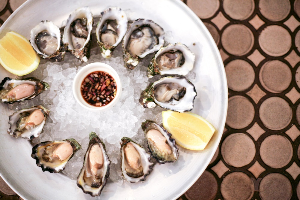 Fresh Australian oysters