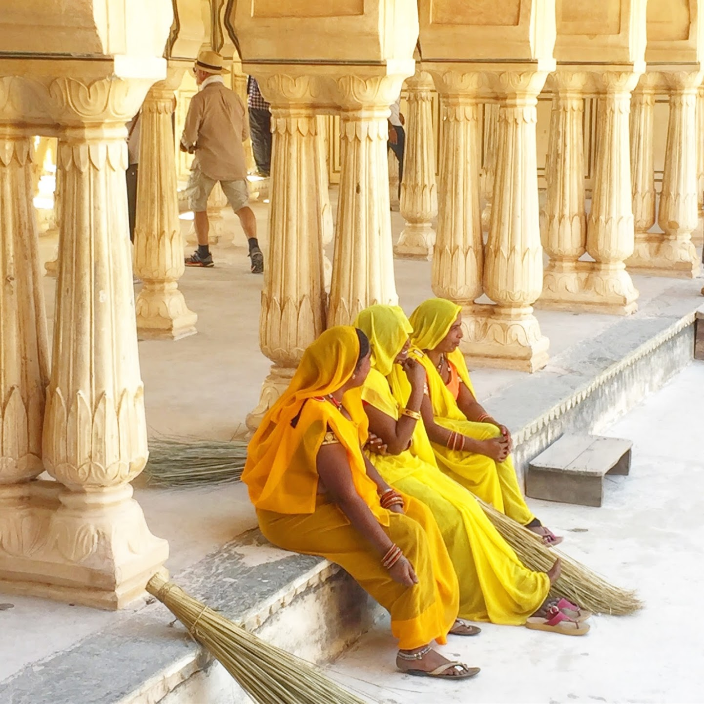 Indian women on tour.JPG