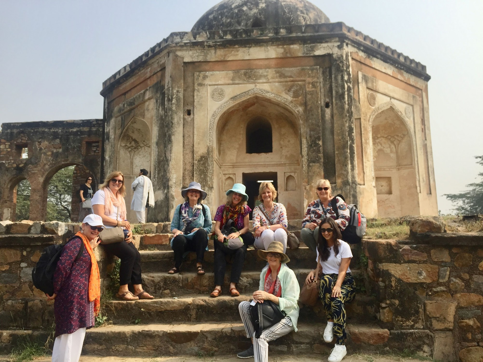 Day Two: Soaking up the history of Delhi on our Sultanate Tour.