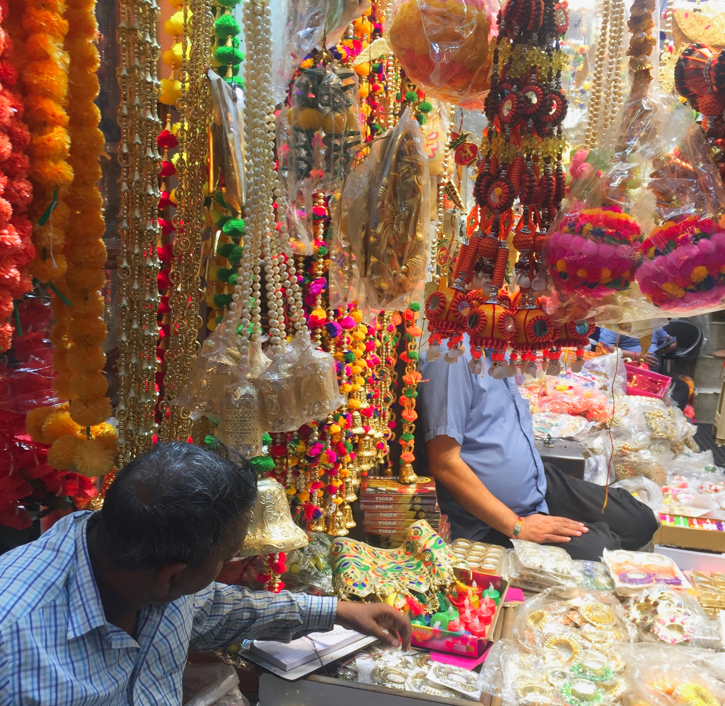 Day One: Shop one of the colourful bazaars of Delhi.