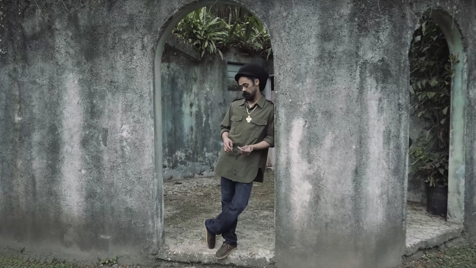 """Slave Mill (Acoustic) -Damian """"Jr. Gong"""" Marley - One take performance video"""
