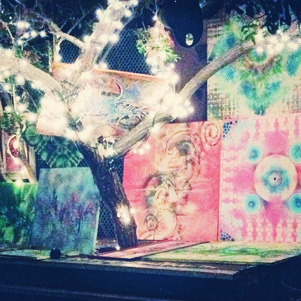 Check out the Giving Tree at The Yard 39 17th St. SD tonight with Live Art by Marq1 & Music by Sloat Dixon. Hope to see u there!