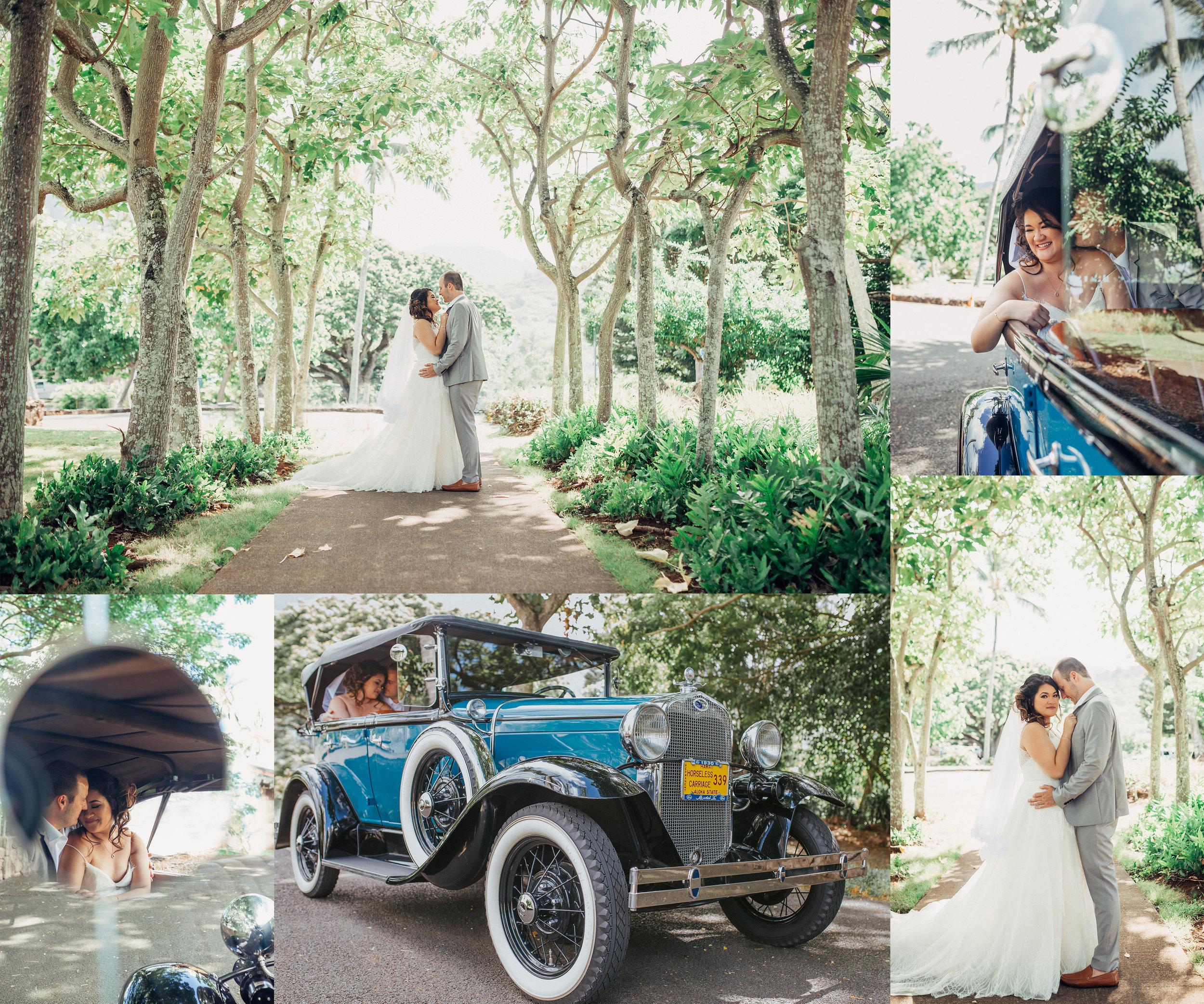 Old Fashion Wedding. July Wedding. Oahu, Hawaii. New Wave Photography.jpg