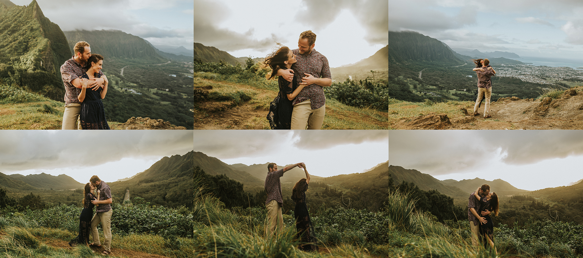 Hannah and Jay - Pali Notches - Oahu, Hawaii copy.jpg