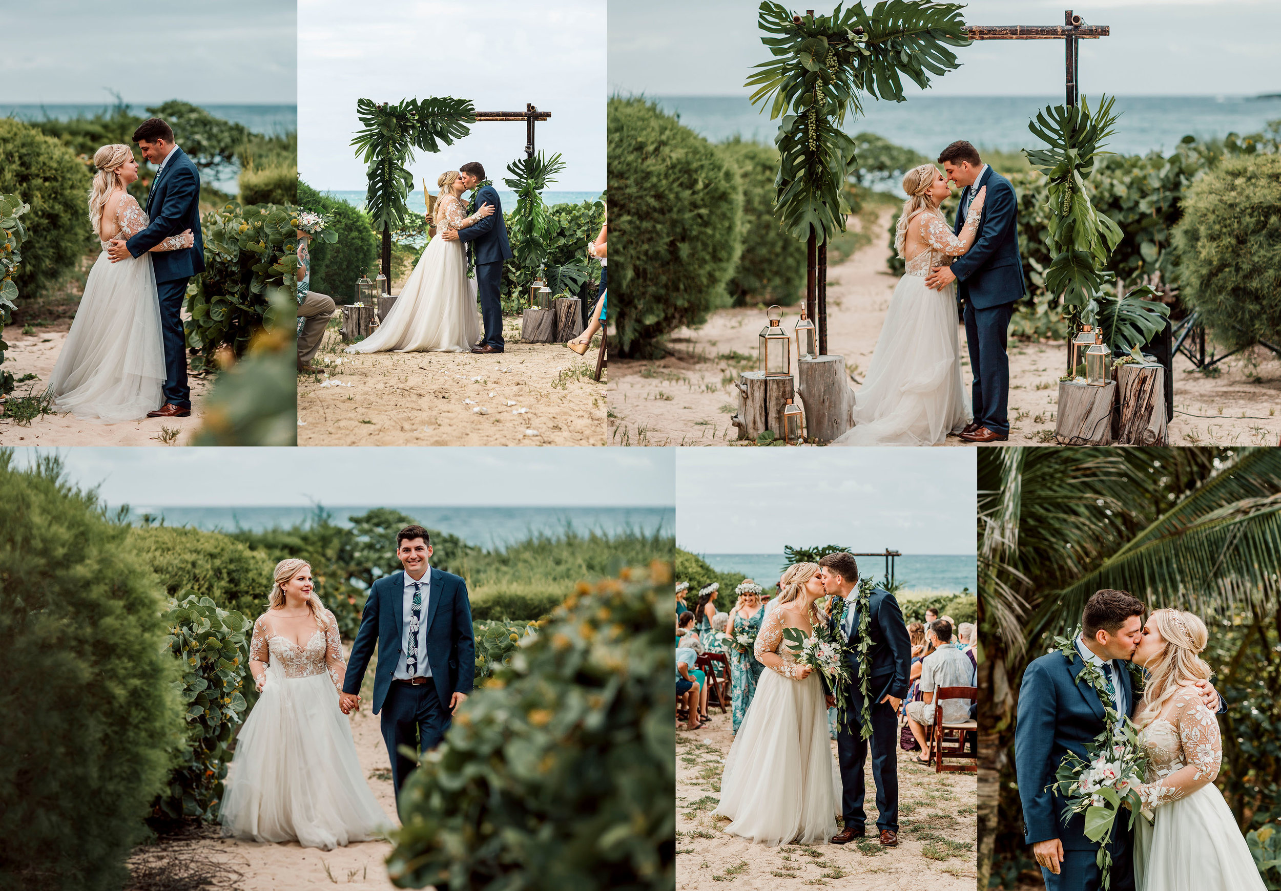Julia + JT Turtle Bay Resort Wedding -