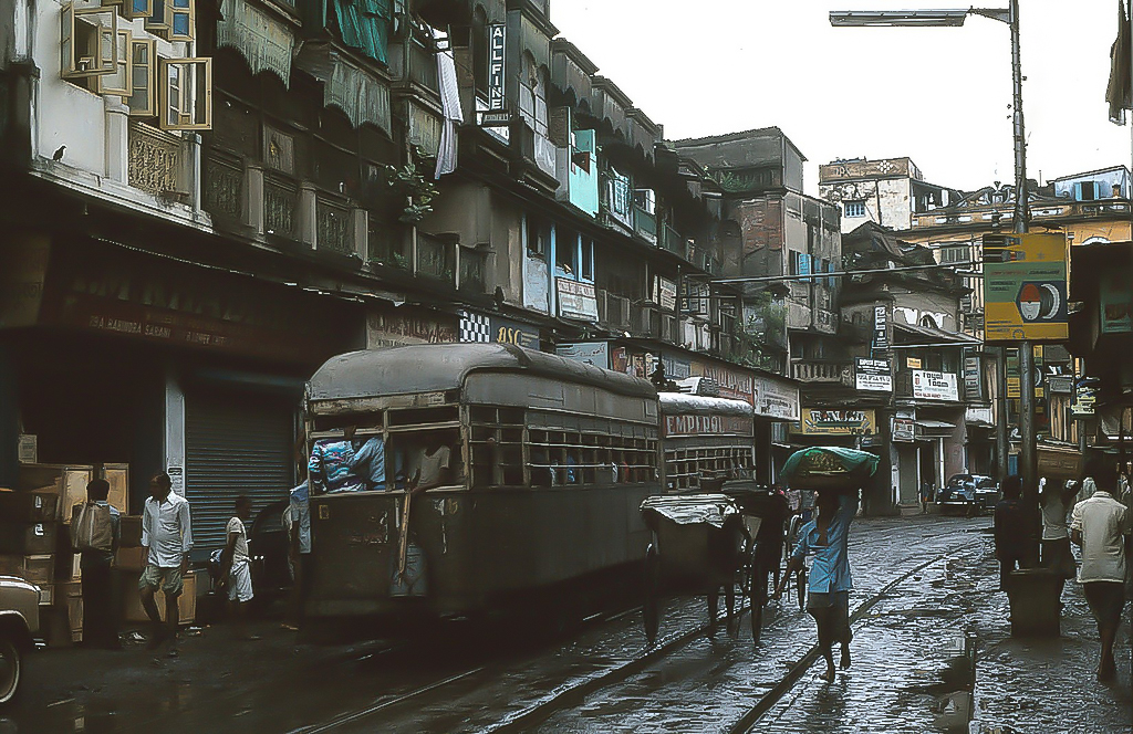Crumbling, sinking, and chaotic, Calcutta is a palimpsest of human experience and India's colonial history.