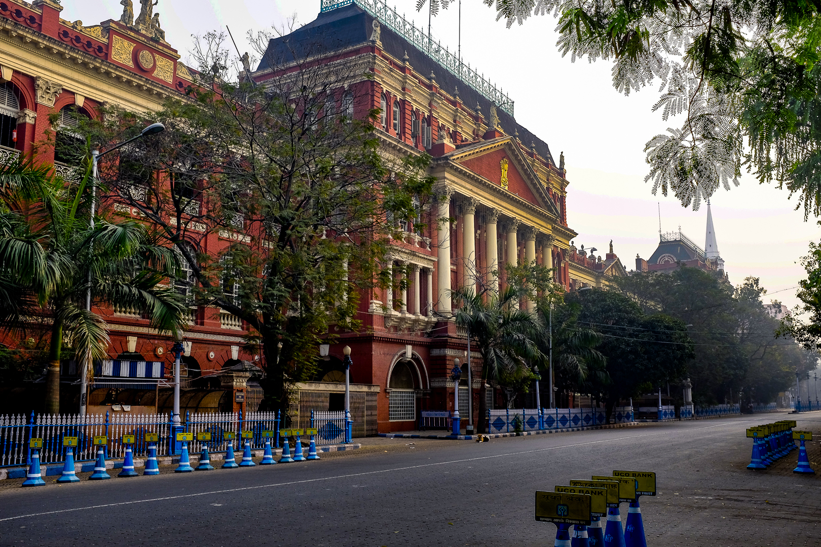The Writer's Building at the northern end of Dalhousie/BBD Bagh.