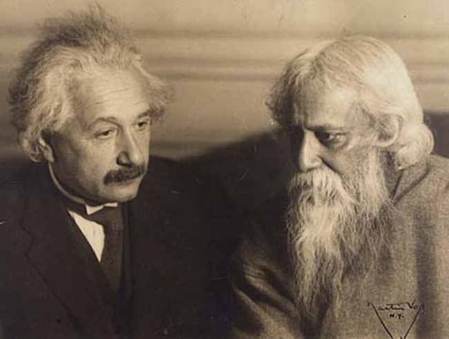 When Science Met Spirituality. Einstein and Tagore discuss reality in Berlin in 1930.